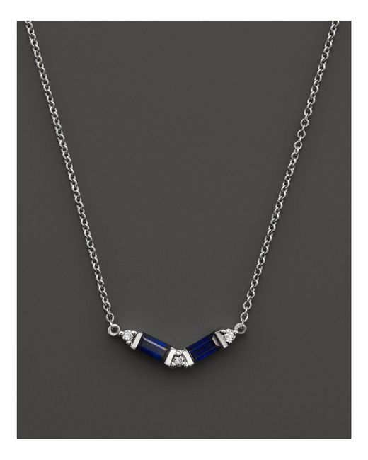 Dana Rebecca | Blue Kristyn Kylie Necklace, 16"
