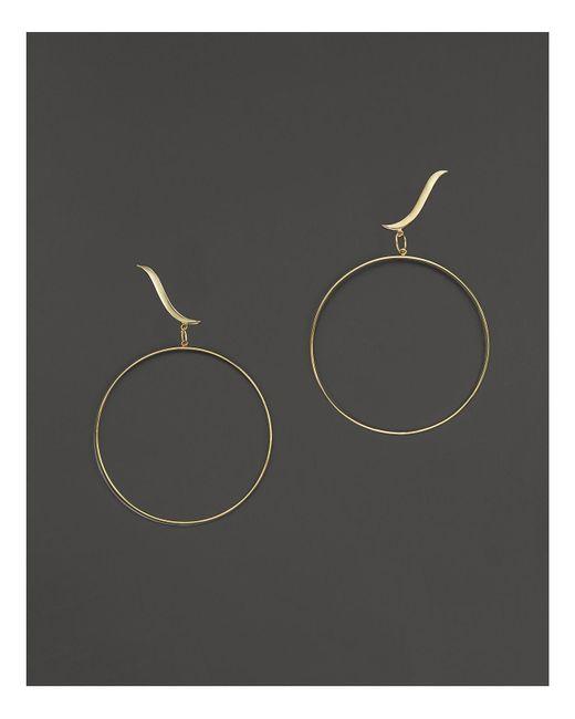 Lana Jewelry | Metallic 14k Yellow Gold Wavelength Bangle & Stud Duo Earrings | Lyst