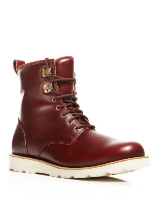 Ugg | Red Hannen Tl Waterproof Boots | Lyst