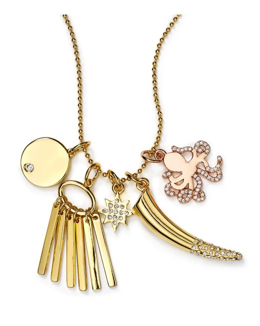 BaubleBar | Metallic New Fave Charms, Set Of 5 | Lyst