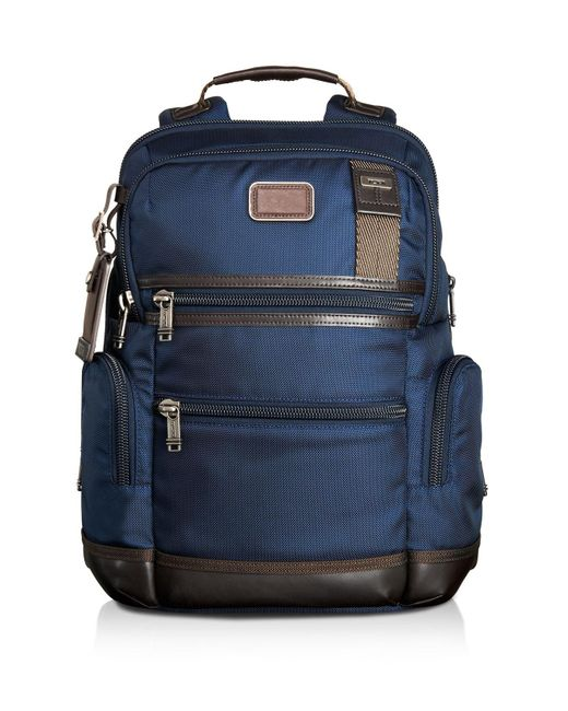 Tumi | Brown Alpha Bravo Knox Backpack for Men | Lyst