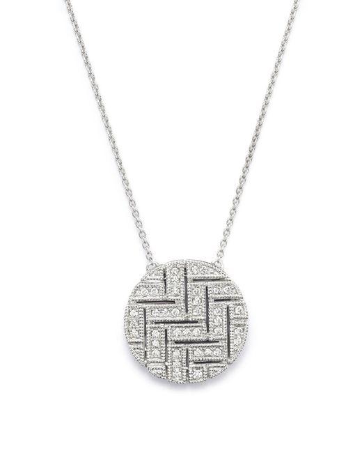 "Dana Rebecca   Metallic Jemma Morgan Diamond Necklace, 16""   Lyst"