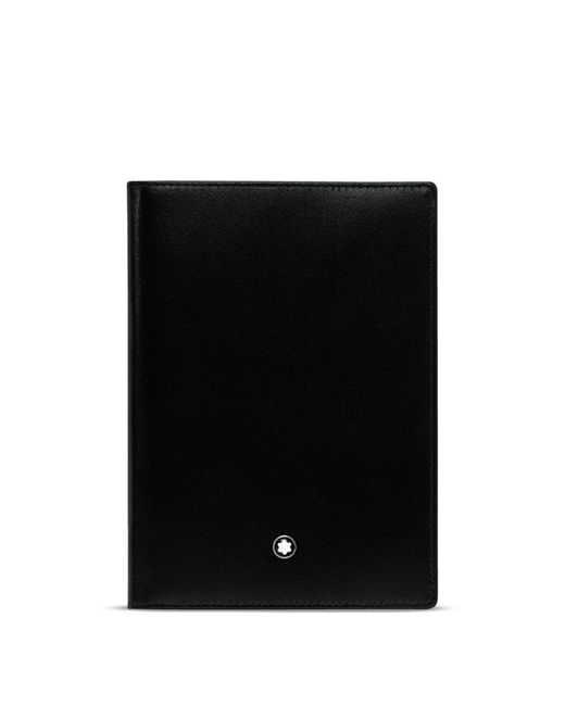 Montblanc | Black Meisterstück Passport Holder for Men | Lyst