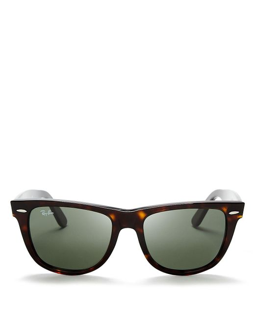 Ray-Ban | Brown Classic Wayfarer Sunglasses | Lyst
