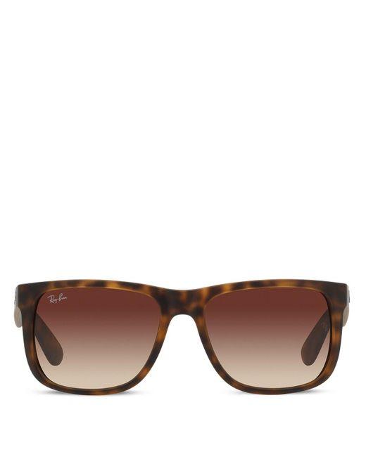 Ray-Ban | Brown Wayfarer Sunglasses | Lyst