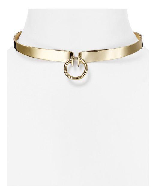 Alexis Bittar | Metallic Miss Havisham Collar Necklace | Lyst