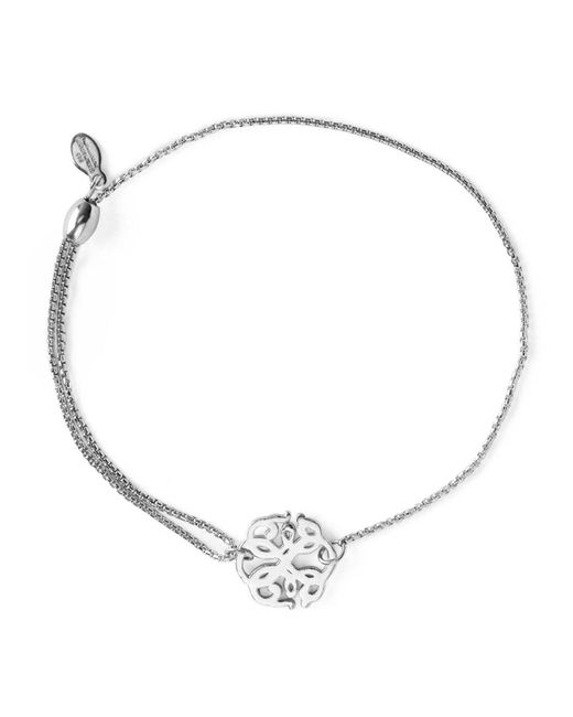 ALEX AND ANI - Metallic Precious Metals Symbolic Path Of Life Pull Chain Bracelet - Lyst