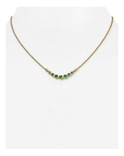 kate spade new york | Blue Dainty Sparkler Necklace, 16"