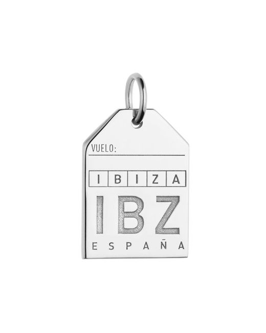 Jet Set Candy | Metallic Spain Ibz Luggage Tag Charm | Lyst