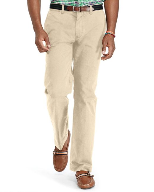 Polo Ralph Lauren | Natural Classic Fit Lightweight Chino Pants for Men | Lyst