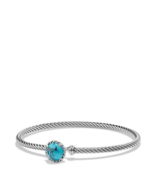David Yurman | Metallic Châtelaine Bracelet With Turquoise | Lyst