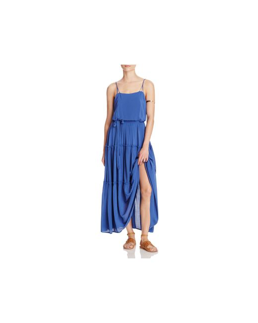 Free People | Blue Valerie Maxi Dress | Lyst