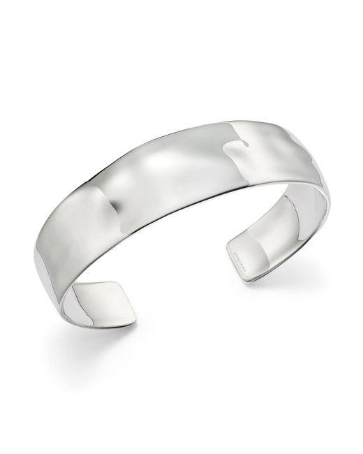 Ippolita | Metallic Sterling Silver Sensotm Textured Surface Cuff | Lyst