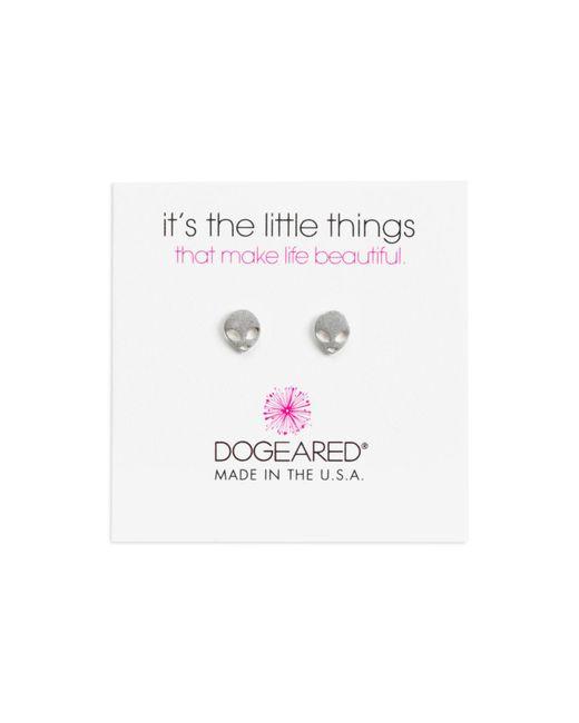 Dogeared | Metallic Alien Stud Earrings | Lyst