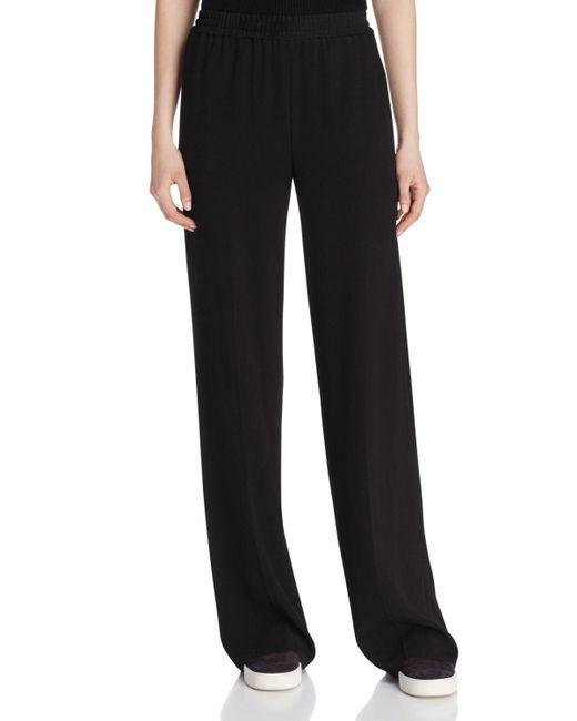 VINCE | Black Vintage Fonda Corduroy Pants | Lyst