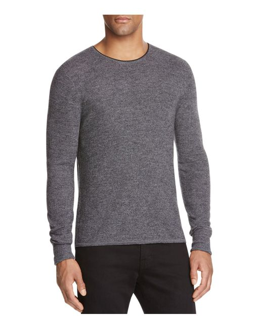 Rag & Bone | Gray Giles Crewneck Wool Sweater for Men | Lyst