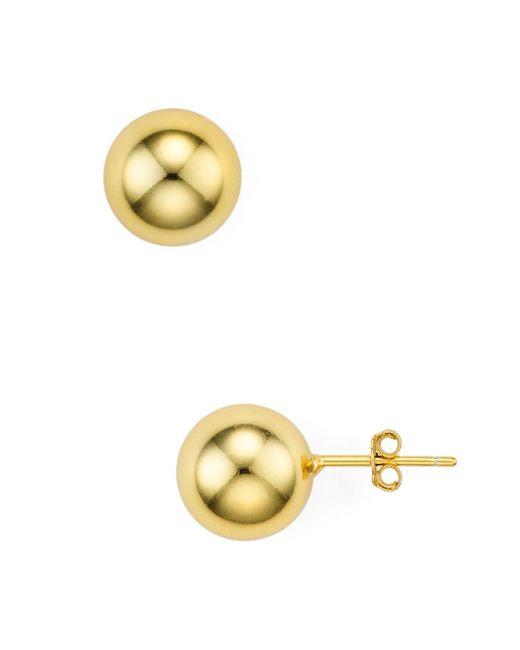 Argento Vivo - Metallic Ball Stud Earrings - Lyst
