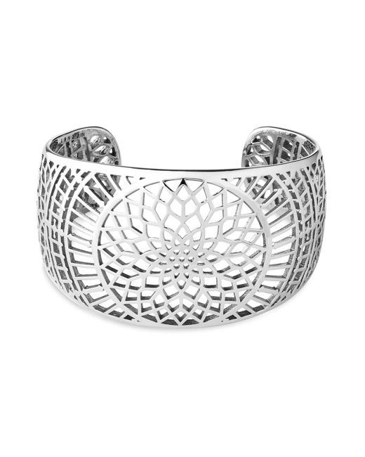 Links of London | Metallic Timeless Sterling Silver Cuff | Lyst