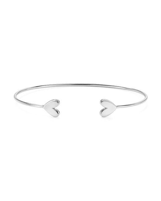 Argento Vivo | Metallic Heart Cuff Bracelet | Lyst