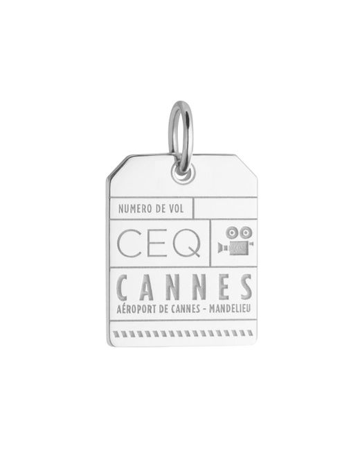 Jet Set Candy | Metallic Ceq Cannes Luggage Tag Charm for Men | Lyst