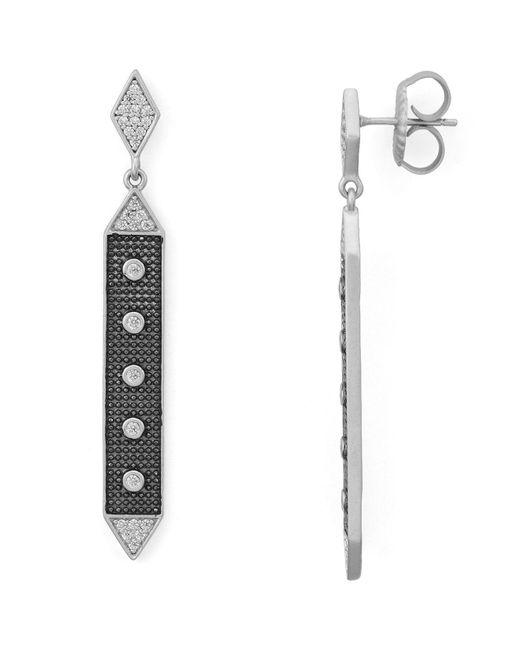 Freida Rothman - Metallic Linear Hammer Earrings - Lyst