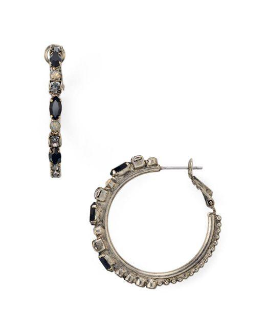 Sorrelli - Multicolor Hoop Earrings - Lyst