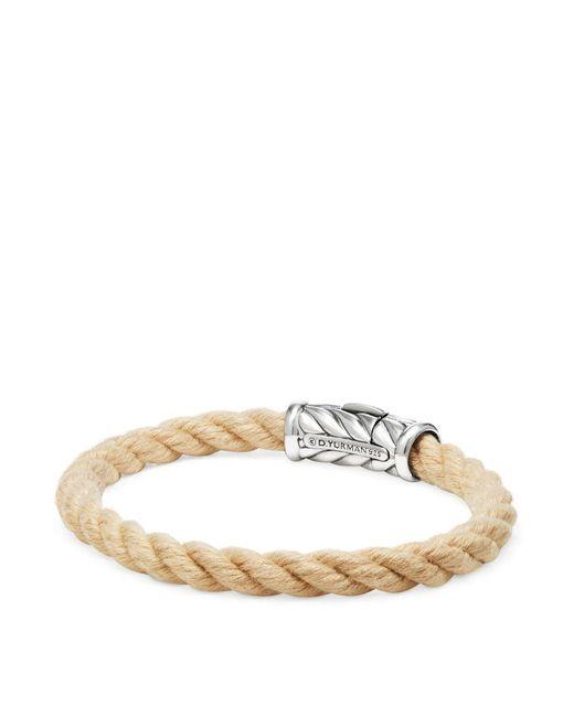 David Yurman   Metallic Maritime Rope Bracelet   Lyst