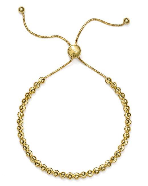 Officina Bernardi - Metallic Moon Bead Bracelet - Lyst