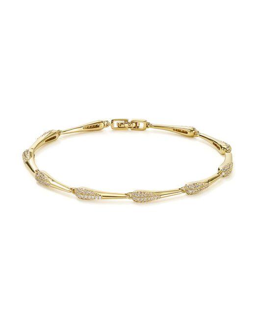 Nadri - Metallic Dappled Line Bracelet - Lyst