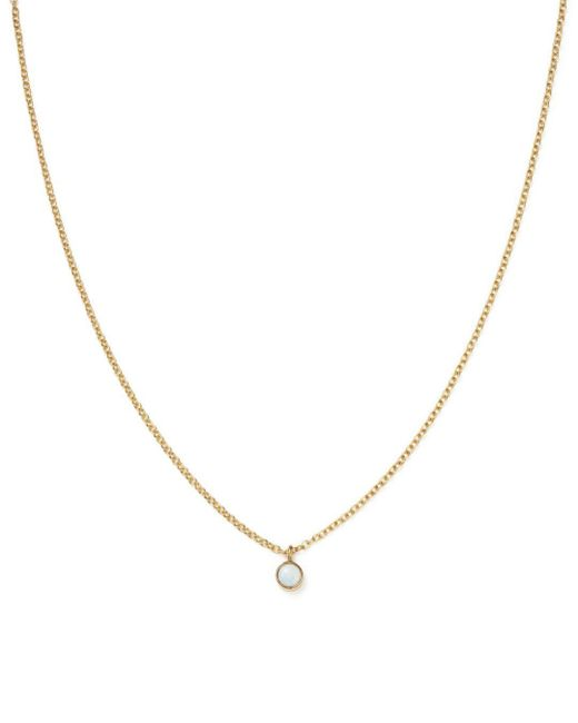 Zoe Chicco - Multicolor 14k Yellow Gold Opal Drop Choker Necklace - Lyst