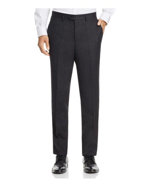 HUGO | Gray Solid Slim Fit Suit Separate Trousers for Men | Lyst
