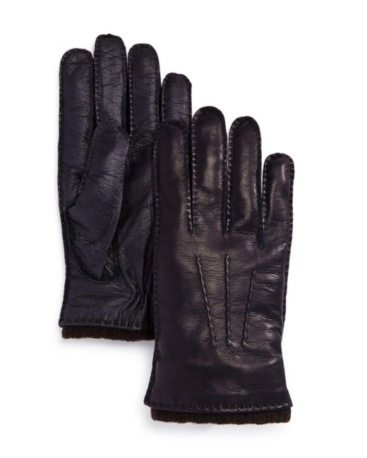 Bloomingdale's - Blue Napa Tech Palm Glove for Men - Lyst
