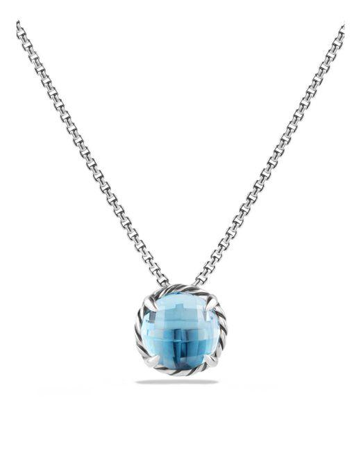 David Yurman | Blue Chatelaine Pendant Necklace | Lyst
