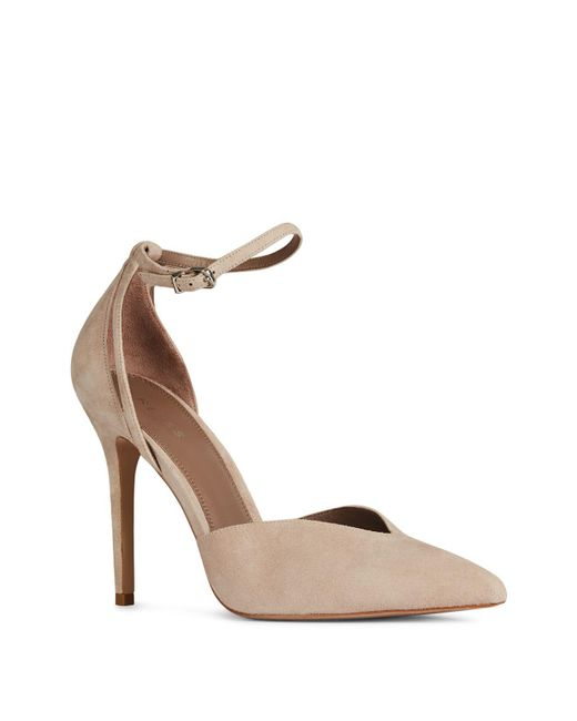 Reiss Women's Katya Pointed Toe Suede Pumps 6dlkHW