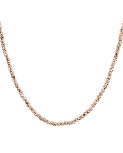 Aqua - Metallic Sterling Sparkle Necklace - Lyst