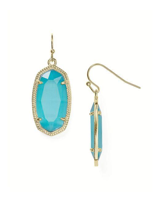 Kendra Scott | Blue Dani Drop Earrings | Lyst