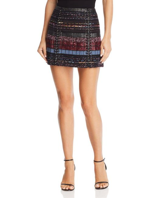 Ramy Brook Karolyn Embellished Mini Skirt