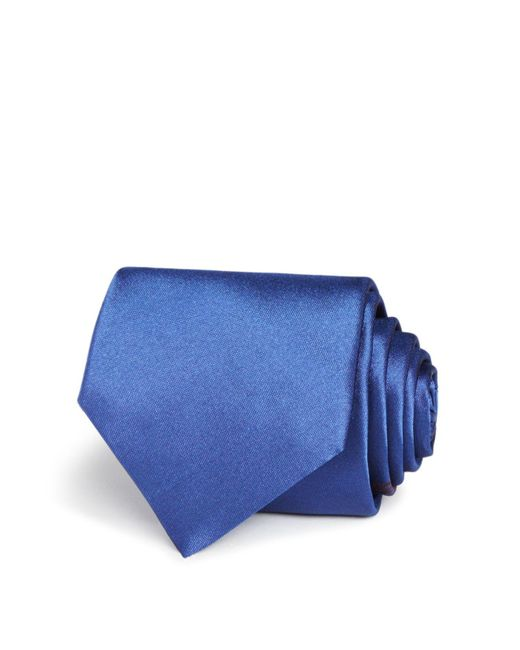 Title Of Work | Blue Thin Multi Lines Classic Tie for Men | Lyst