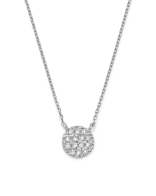 Dana Rebecca - Metallic 14k White Gold Lauren Joy Mini Necklace With Diamonds - Lyst