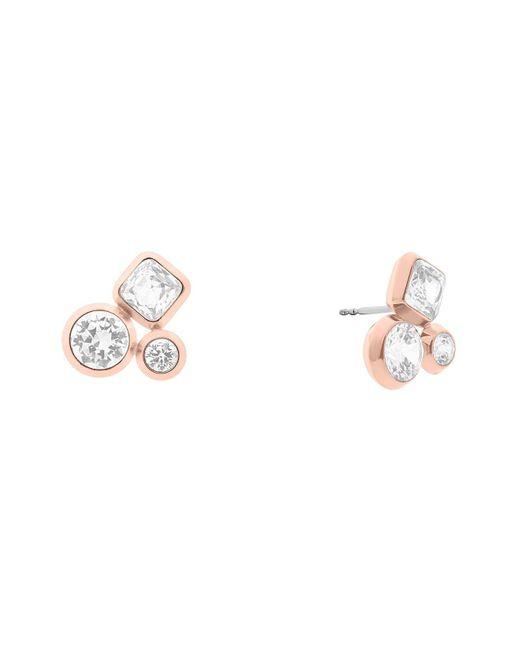 Michael Kors | Pink Cluster Stud Earrings | Lyst