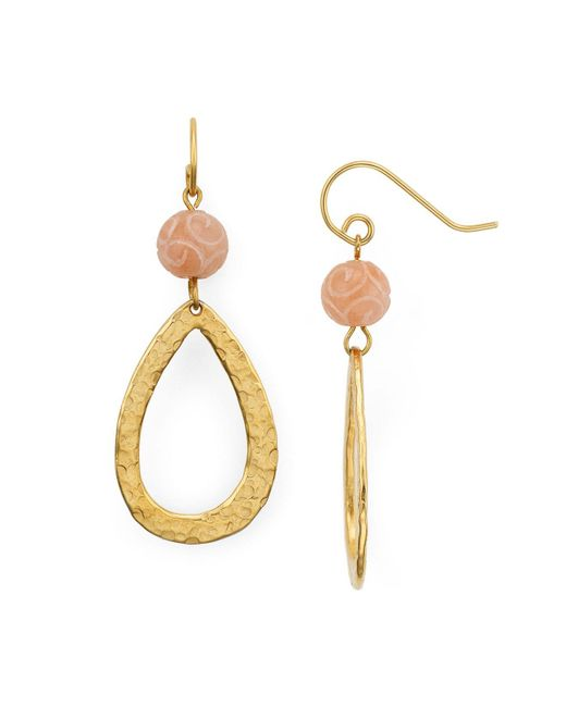 Stephanie Kantis | Metallic Stone Drop Earrings | Lyst