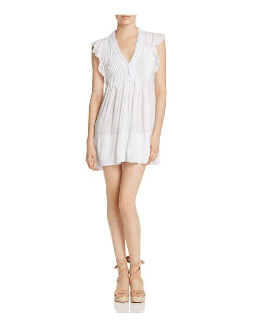 Poupette | White Sasha Mini Dress | Lyst