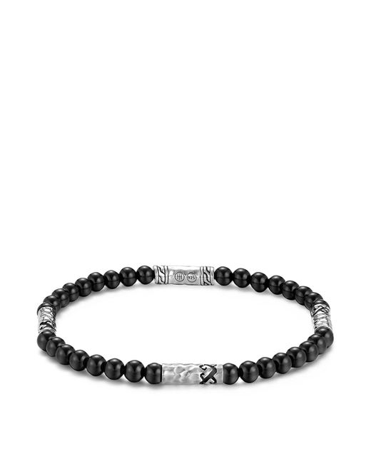 John Hardy - Men's Sterling Silver Palu Multi-station Bracelet With Black Onyx for Men - Lyst