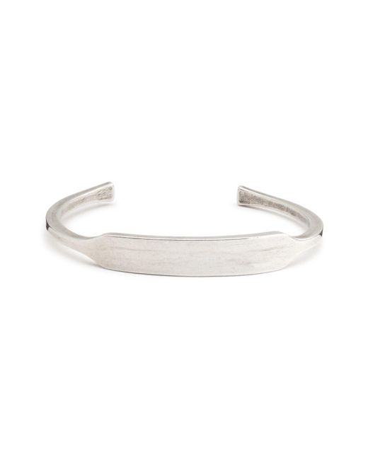 Giles & Brother | Metallic Id Cuff | Lyst