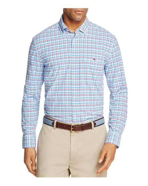 Vineyard Vines | Blue Jimson Check Tucker Classic Fit Button-down Shirt for Men | Lyst