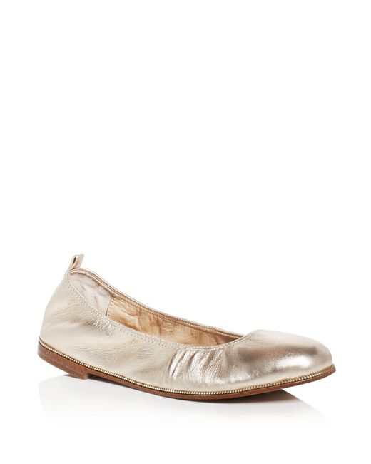 Botkier | Metallic Mason Ballet Flats | Lyst