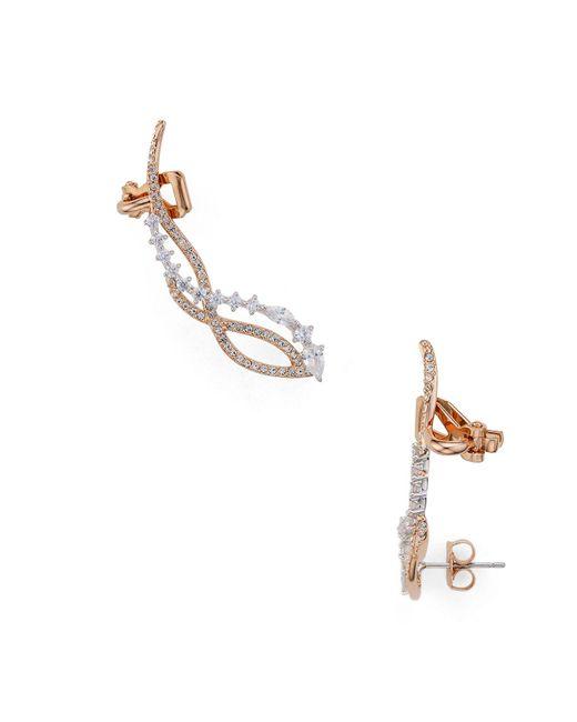 Nadri | Metallic Ivy Ear Climbers | Lyst
