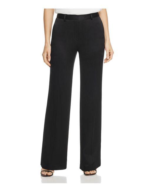 Donna Karan   Black Wide-leg Pants   Lyst