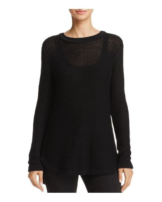 Aqua | Black Cross-back Sweater | Lyst