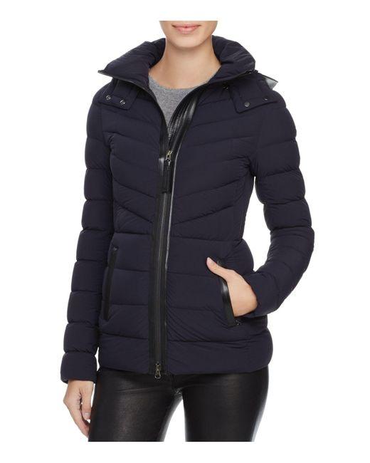 Mackage   Blue Patti Down Coat   Lyst